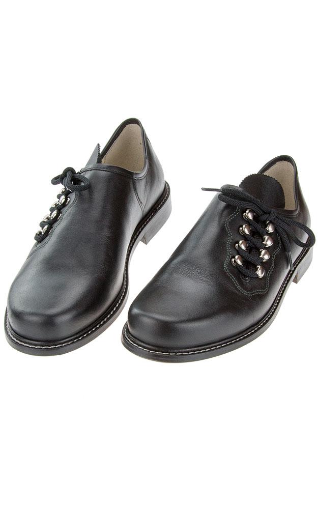 best sneakers 6bc32 87a64 Haferlschuhe Plattler 1761-1100, schwarz
